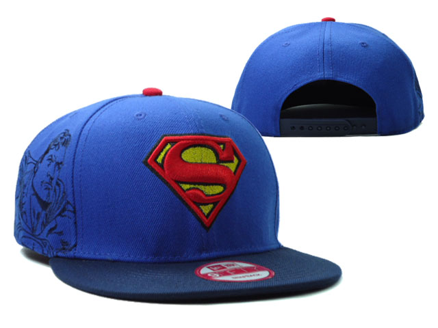 Super Man Snapback Hat 02